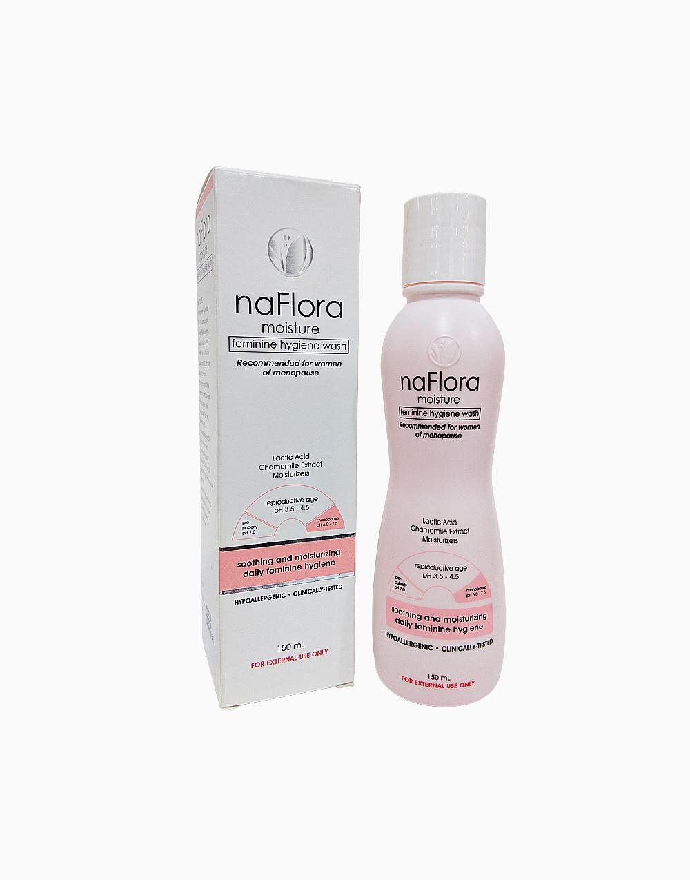 Moisture Feminine Hygiene Wash (150ml) by NaFlora