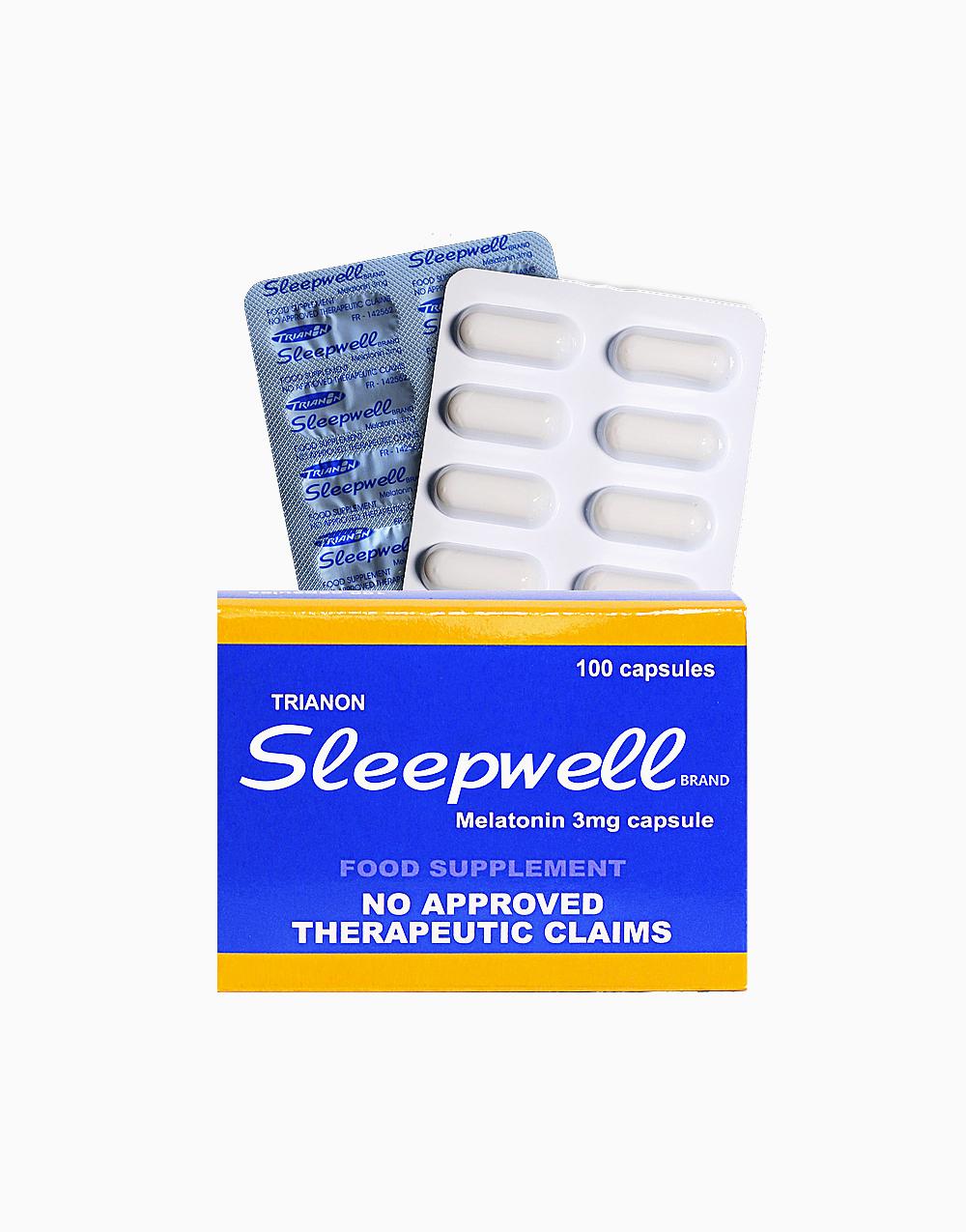 Melatonin (3mg, 100 Capsules) by Sleepwell Brand