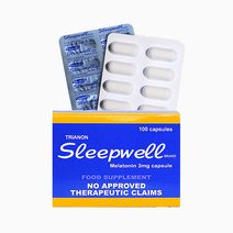 Melatonin (3mg, 100 Capsules) by Sleepwell Brand