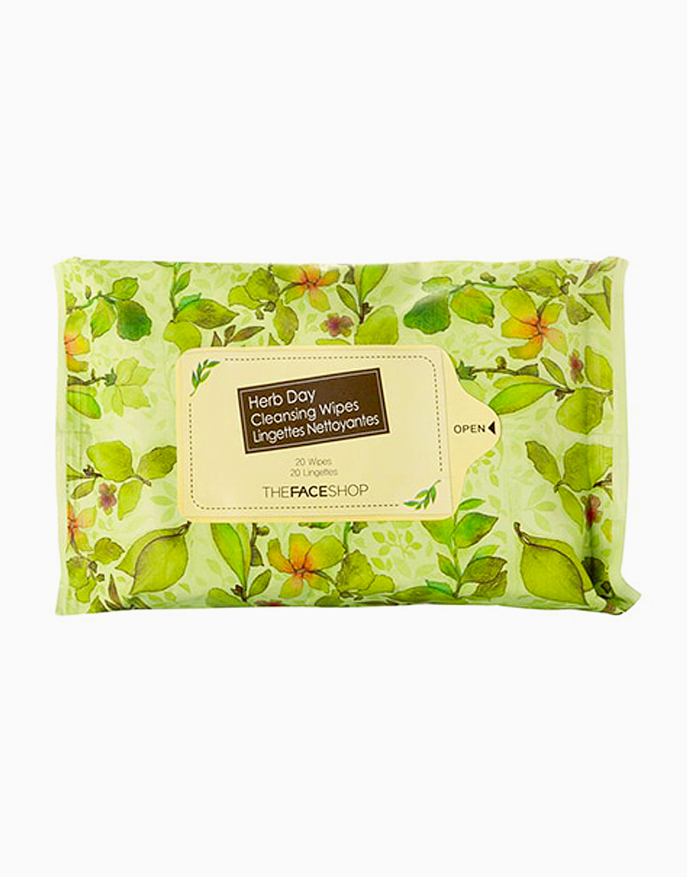 Herb Day Cleansing Tissue (20) by The Face Shop