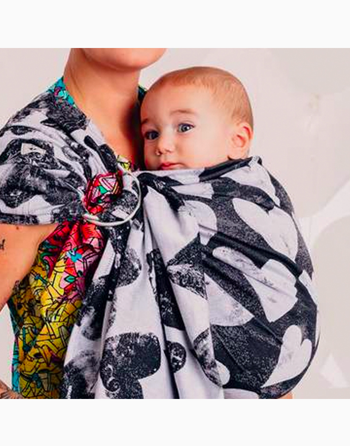 Ring Sling Long with Gathered Shoulder (Lovka Classic) by Lennylamb