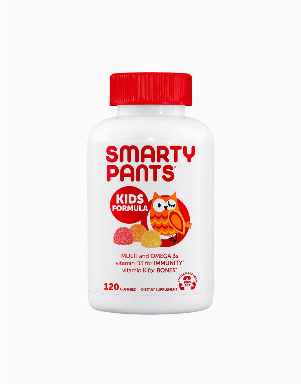Kids Formula Multi and Omega 3s Vitamin D3 for Immunity Vitamin K for Bones (120 Gummies)  by Smarty Pants