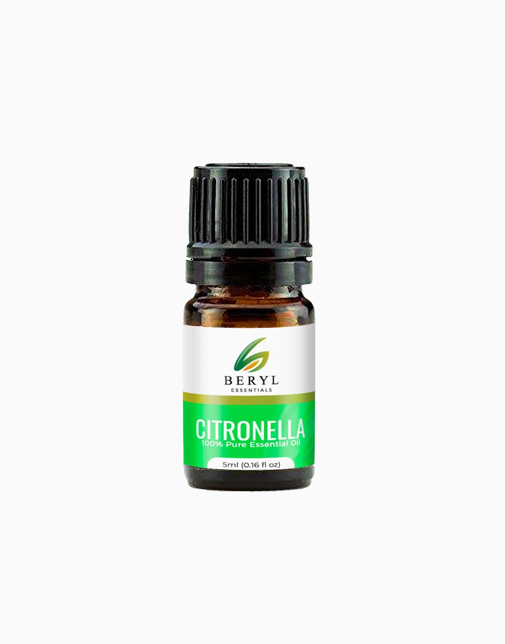 Citronella Essential Oil (5ml) by Beryl Essentials
