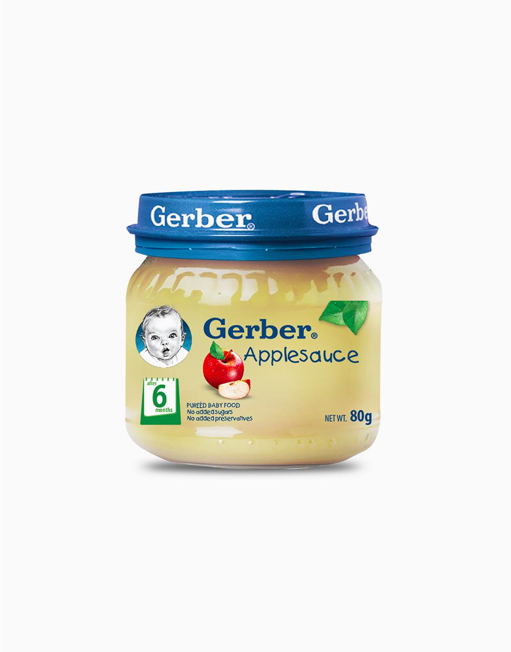 Applesauce Baby Food (80g) by Gerber