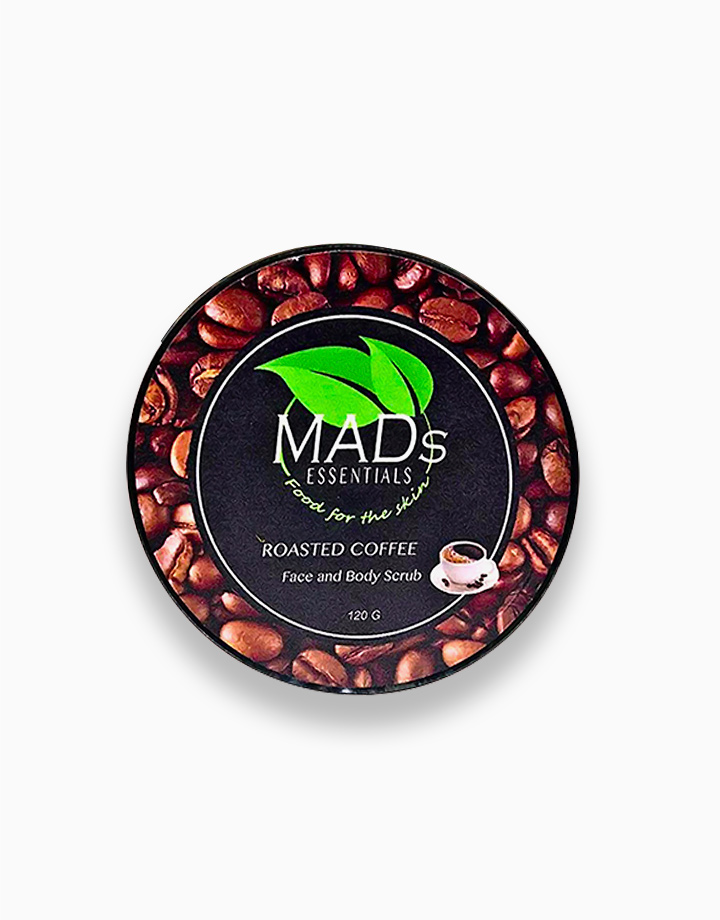 1 roasted coffee face and body scrub