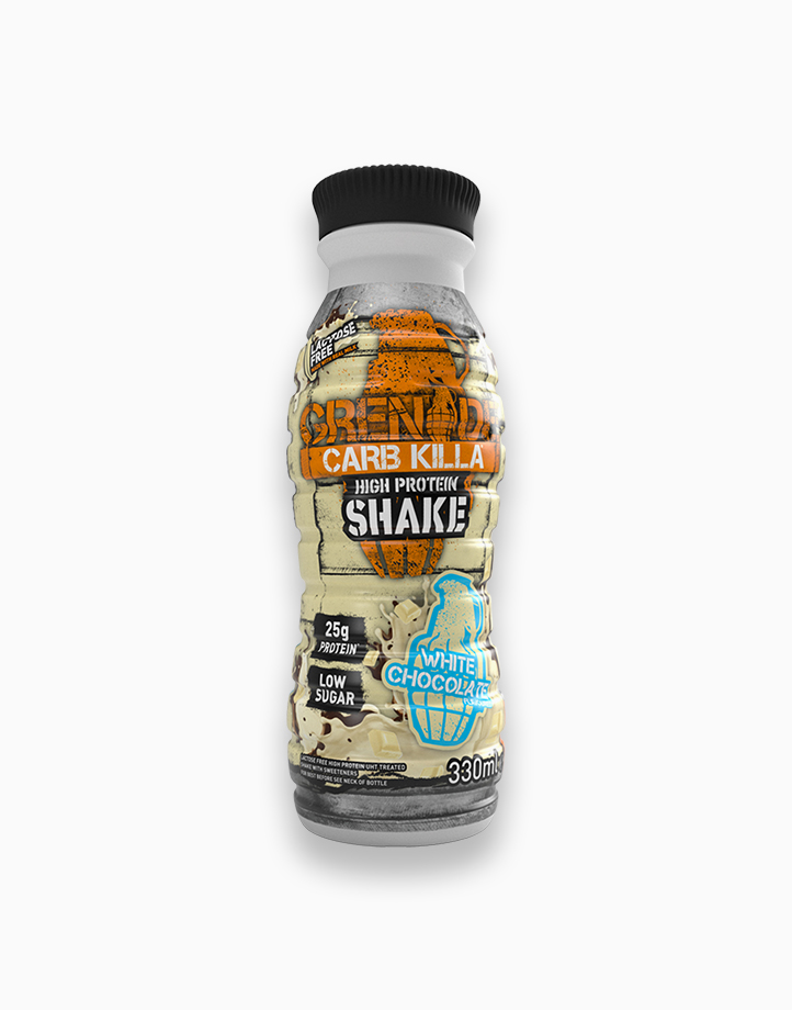 Carb Killa Protein Shake in White Chocolate Cookie (330ml) by Grenade