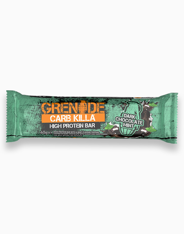 Carb Killa Protein Bar in Dark Chocolate Mint by Grenade