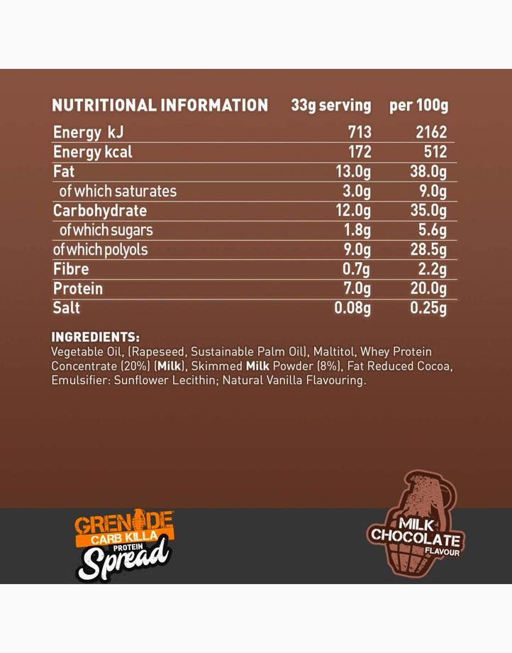 Carb Killa Protein Spread in Milk Chocolate (360g) by Grenade