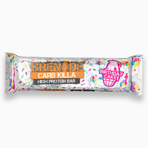 Grenade carb killa birthday cake bar
