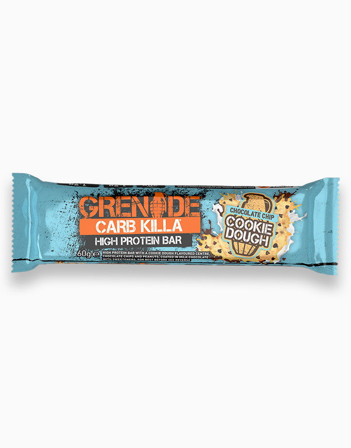 Carb Killa Protein Bar in Chocolate Chip Cookie Dough by Grenade
