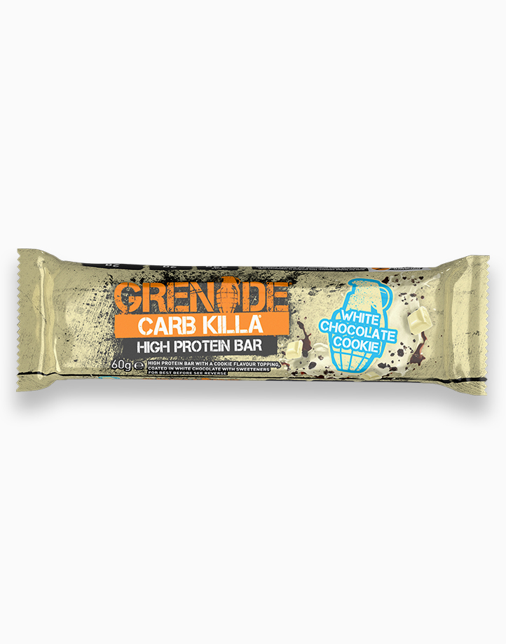 Carb Killa Protein Bar in White Chocolate Cookie by Grenade