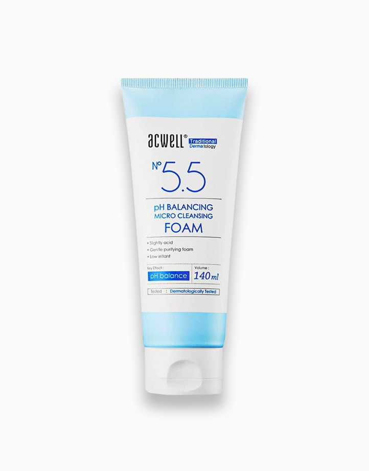 pH Balancing Micro Cleansing Foam by ACWELL