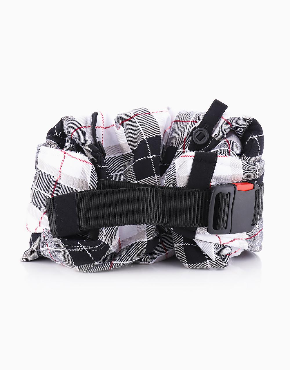 Lennyhybrid Adjustable Half-buckle Baby Carrier (Arcadia Plaid) by Lennylamb