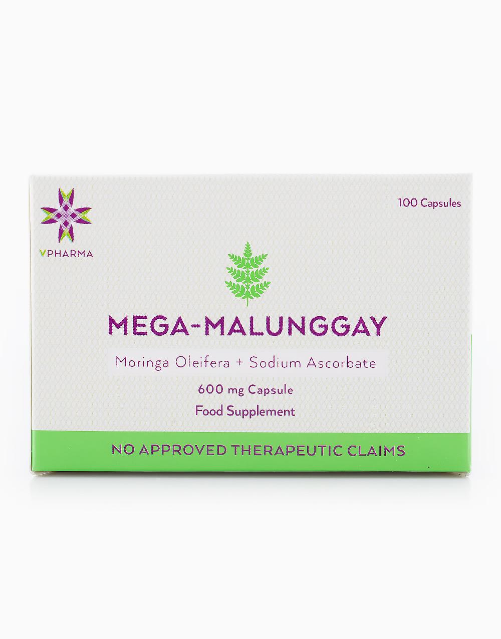 Mega-Malunggay (100 Capsules) by VPharma