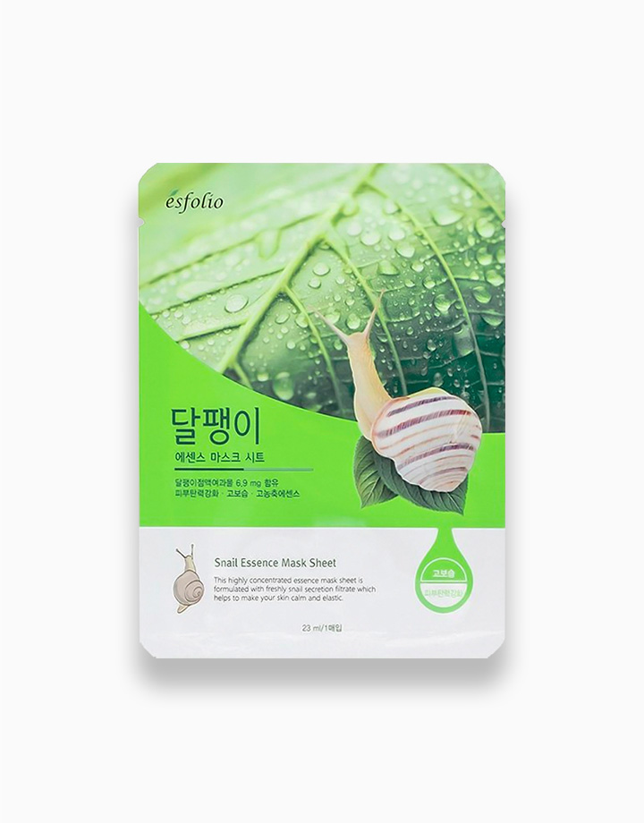 1 snail essence mask sheet
