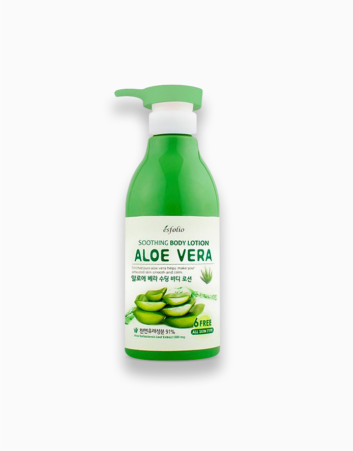 Aloe Vera Soothing Body Lotion by Esfolio