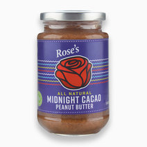 Midnight Cacao Peanut Butter (340g) by Rose's Kitchen