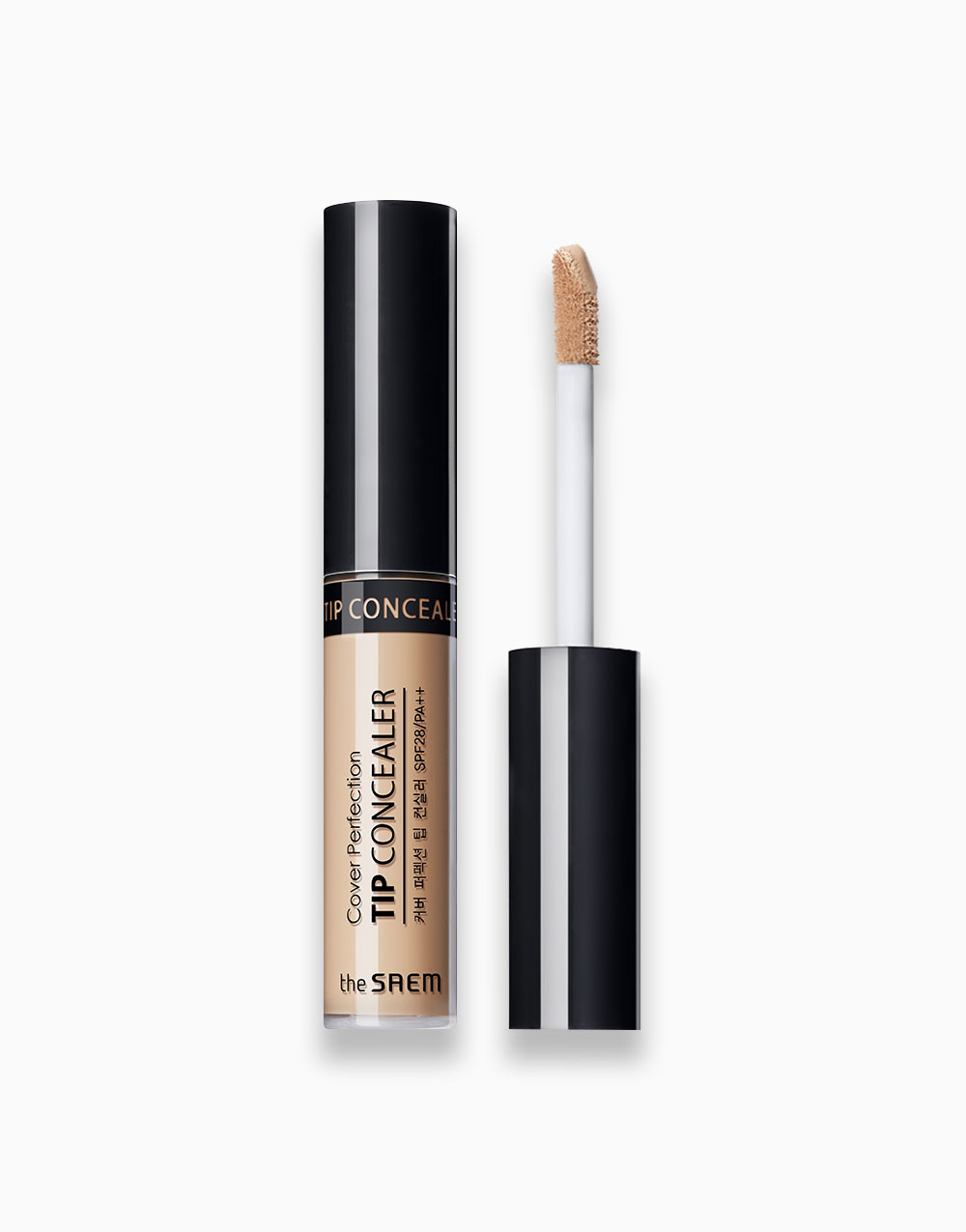 Cover Perfection Tip Concealer  by The Saem | 2.5 Medium Deep