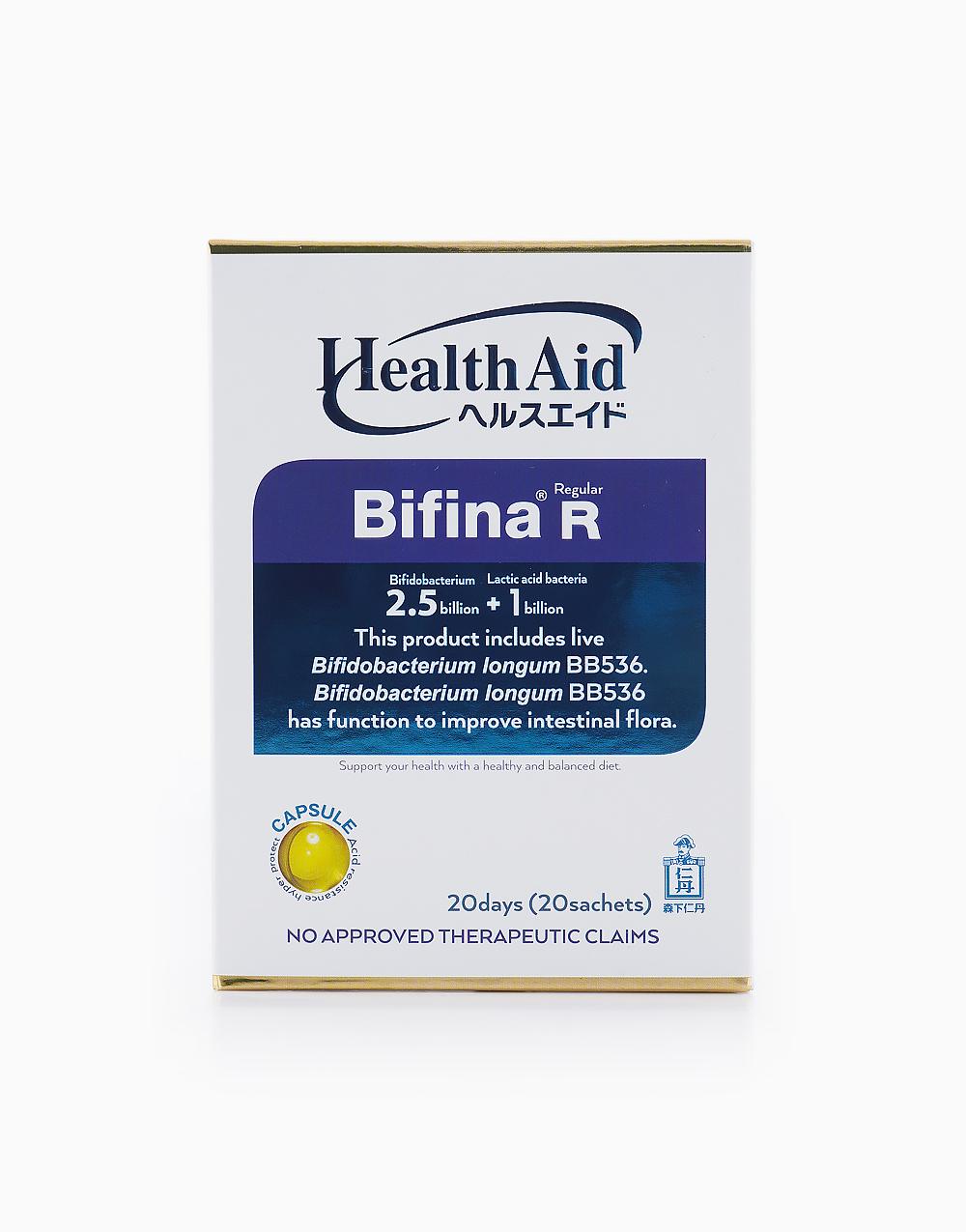 HealthAid Bifina R for 20 Days (20 Packets) by Health Aid Bifina by Jintan