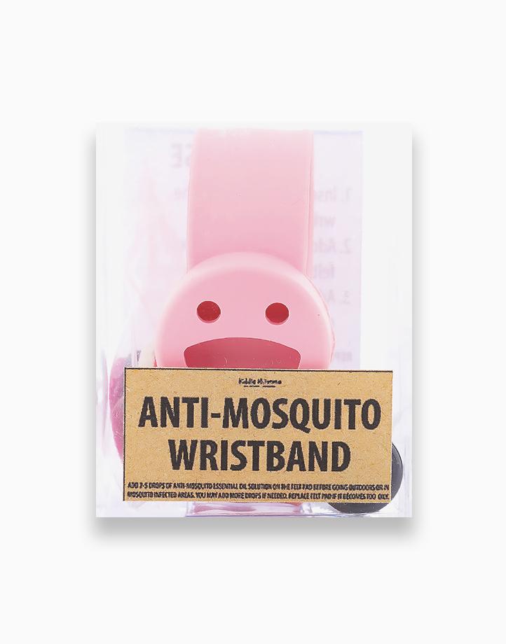 Anti-Mosquito Wristband by Kiddie Momma | Light Pink
