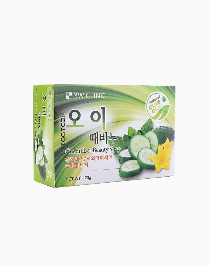 Cucumber Beauty Soap by 3W Clinic
