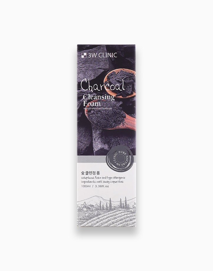 Charcoal Cleansing Foam by 3W Clinic