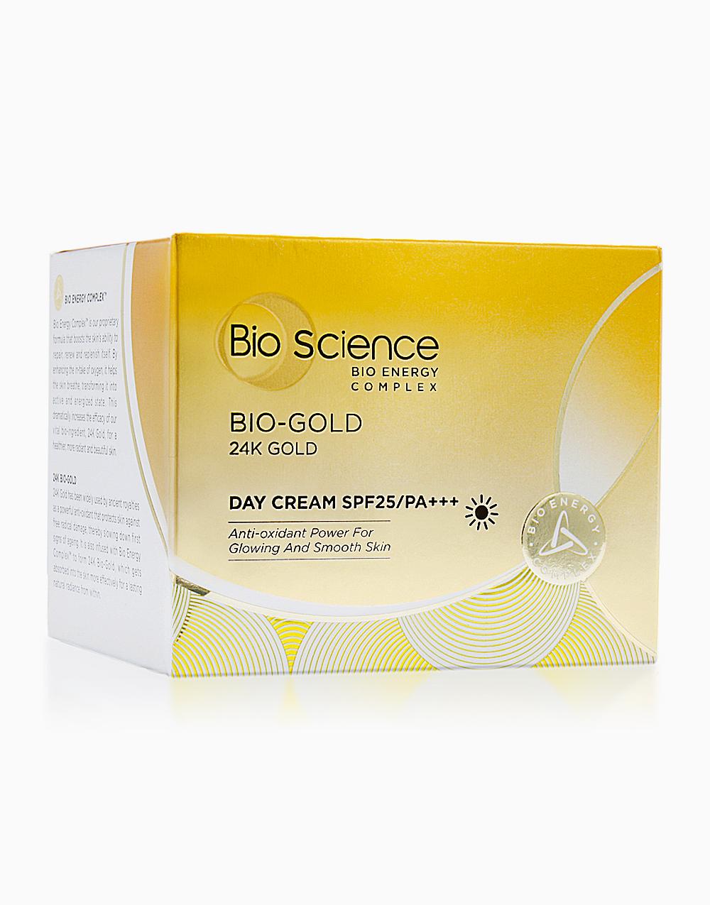 Bio-Gold Day Cream SPF 25 40g Anti-Aging Moisturizing Day Cream with SPF 25 by Bio Science