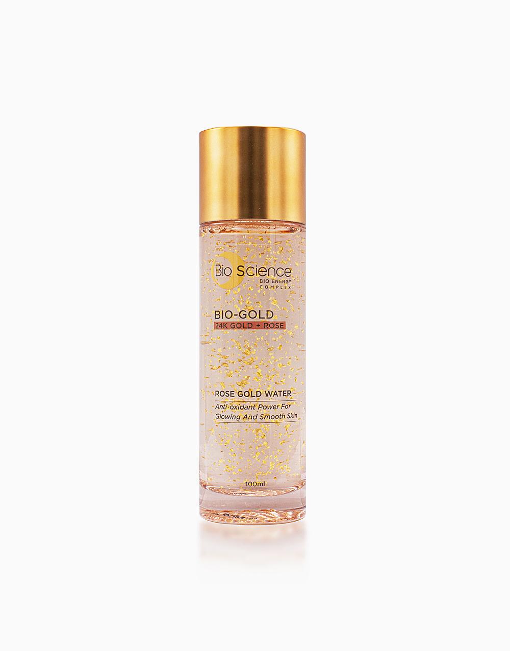 Bio-Gold Rose Gold Water Anti-Aging Toner + Serum (100ml) by Bio Science