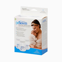 Dr. brown s breastmilk collection bottles w neck  3pcs pk 2