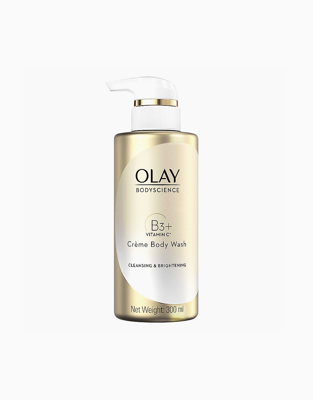 Olay Body Science Cleansing and Brightening Crème Body Wash with Niacinamide (300ml) by Olay