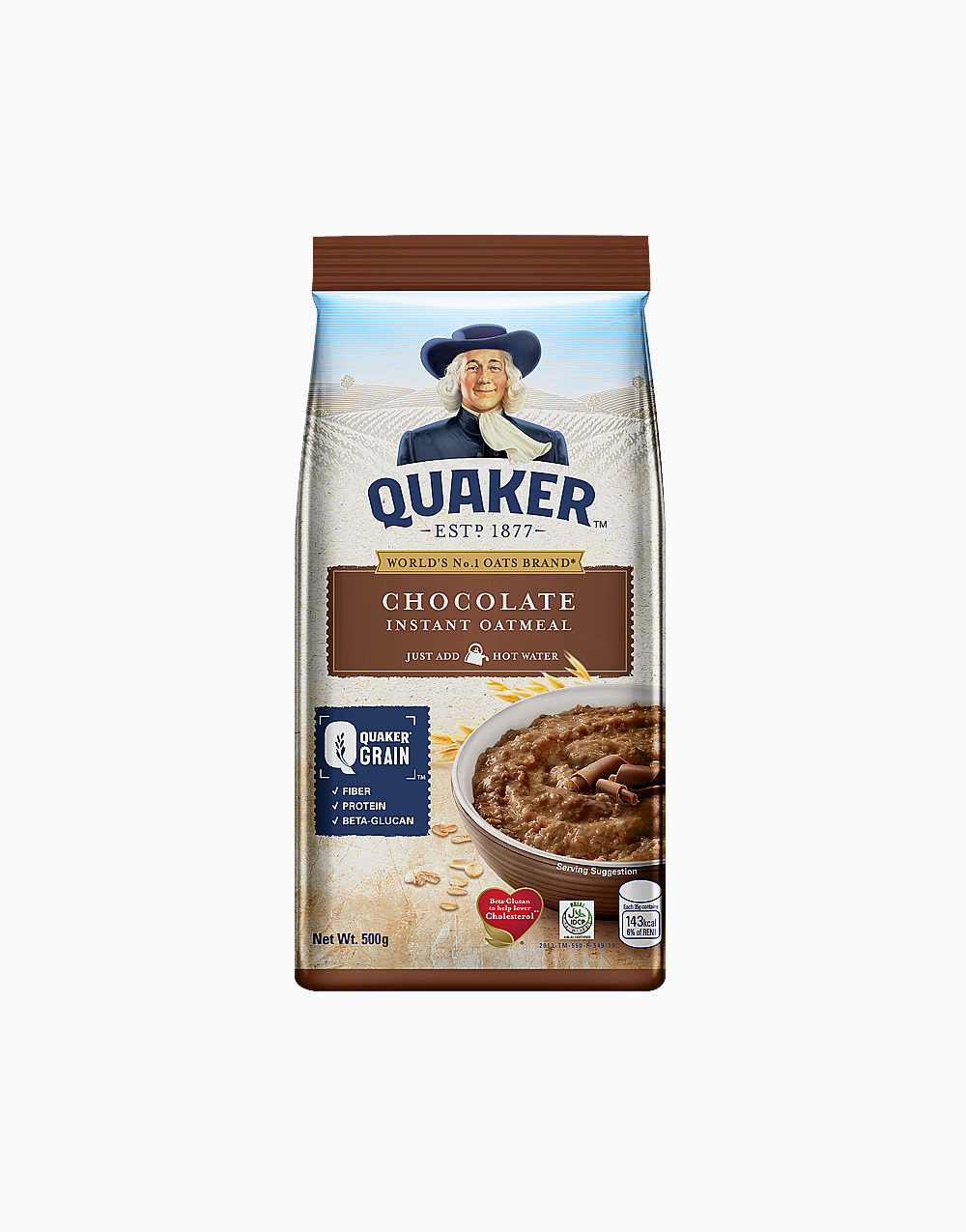 Flavored Oatmeal Chocolate (500g) by Quaker