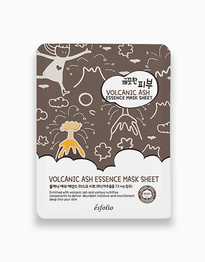 Pure Skin Volcanic Ash Essence Mask Sheet by Esfolio