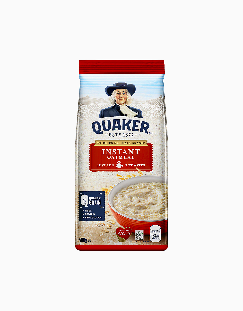 Instant Oatmeal (400g) by Quaker