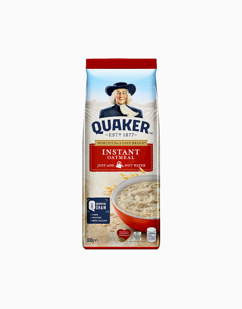 Instant Oatmeal (800g) by Quaker