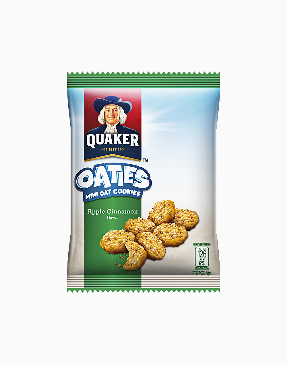 Oaties Apple and Cinnamon (28g) by Quaker