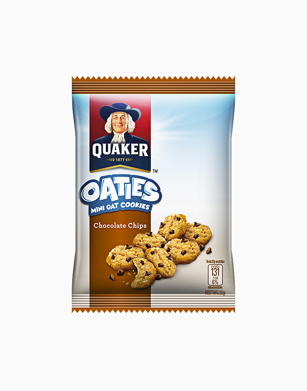 Oaties Chocolate Chips (28g) by Quaker