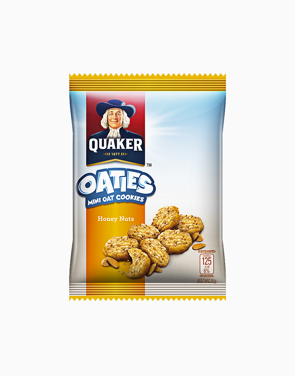 Oaties Honey Nuts (28g) by Quaker