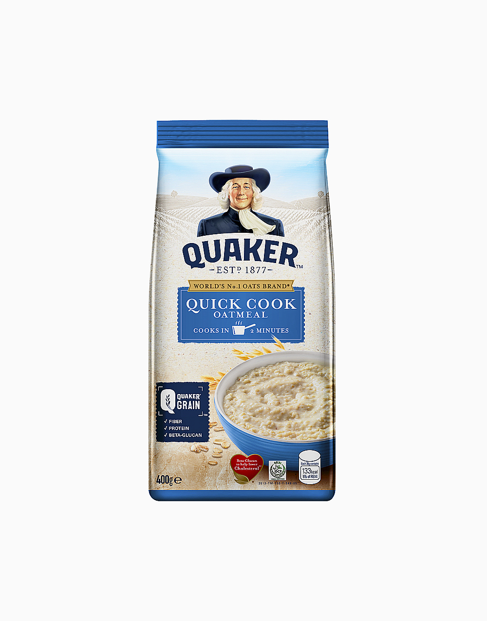 Quick Cooking Oatmeal (400g) by Quaker