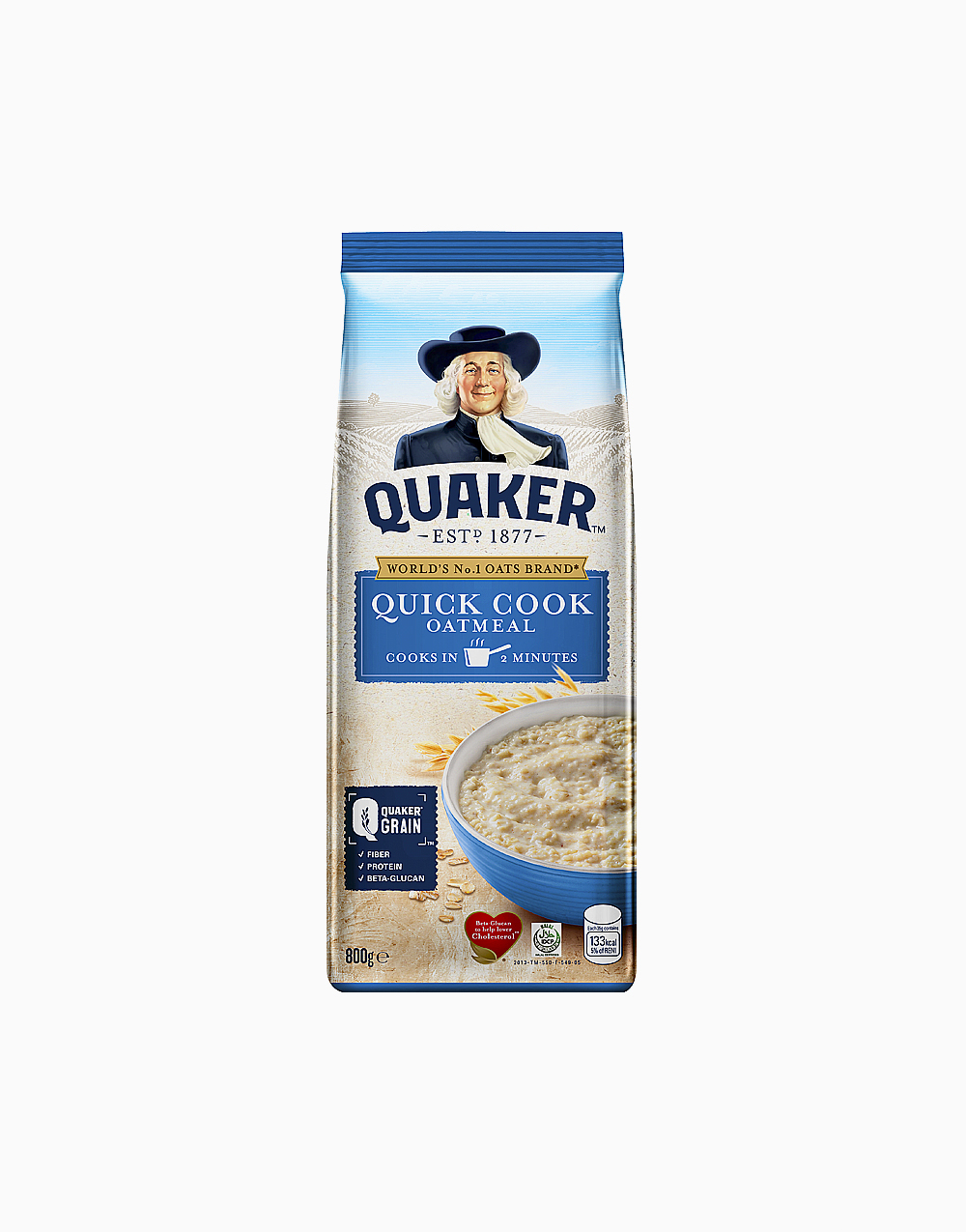 Quick Cooking Oatmeal (800g) by Quaker