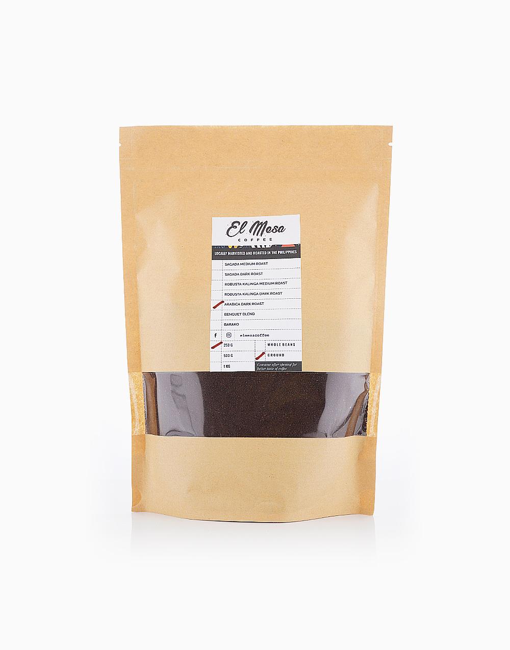 Arabica Dark Roast Coffee by El Mesa Coffee