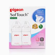 PP Wideneck Bottle Twin Pack 160ml by Pigeon