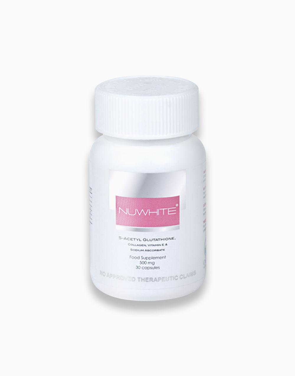 NuWhite S-Acetyl Glutathione, Collagen, Vitamin E & Sodium Ascorbate by NuWhite