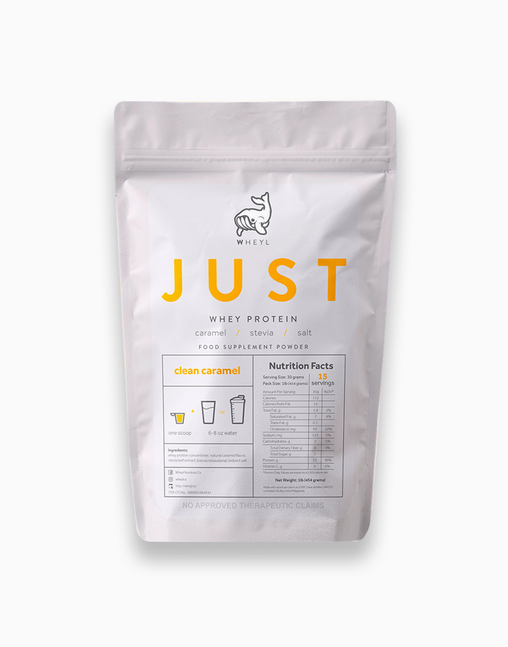 Just Clean Caramel Whey Protein (454g) by Wheyl Nutrition Co.
