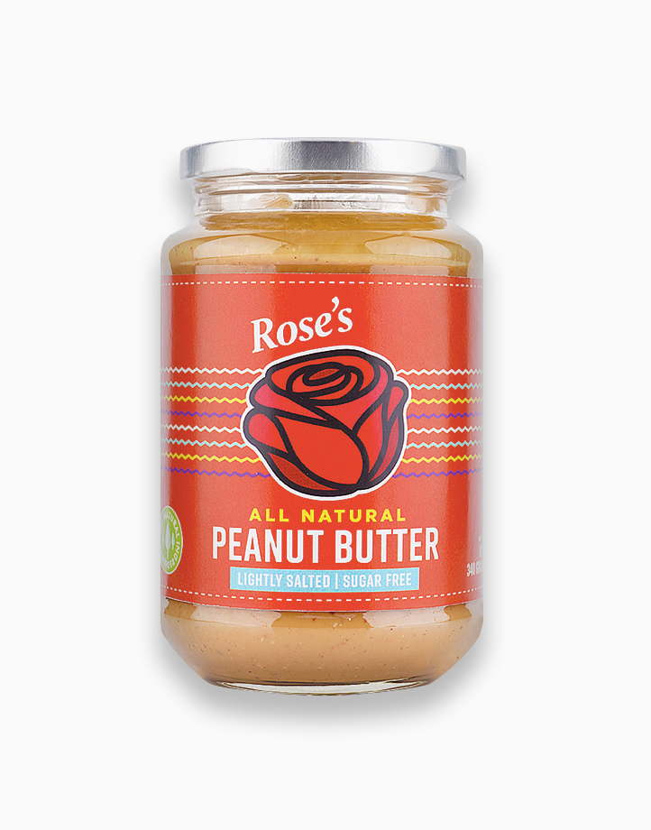 All Natural Peanut Butter (Lightly Salted | Sugarfree) by Rose's Kitchen