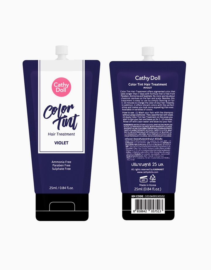 Rose Me Color Tint Hair Treatment (25g) by Cathy Doll   Violet