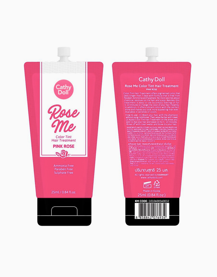 Rose Me Color Tint Hair Treatment (25g) by Cathy Doll   Pink Rose