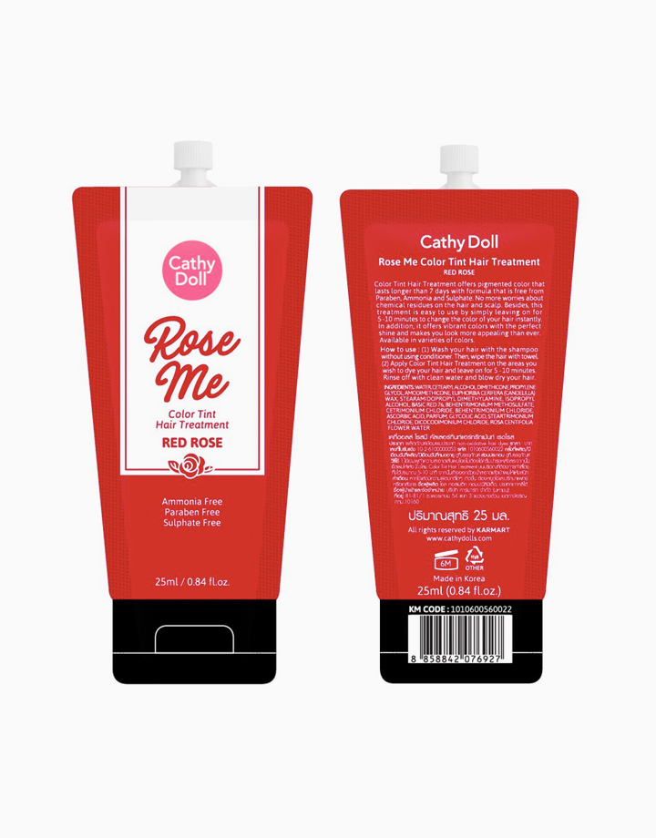 Rose Me Color Tint Hair Treatment (25g) by Cathy Doll   Red Rose