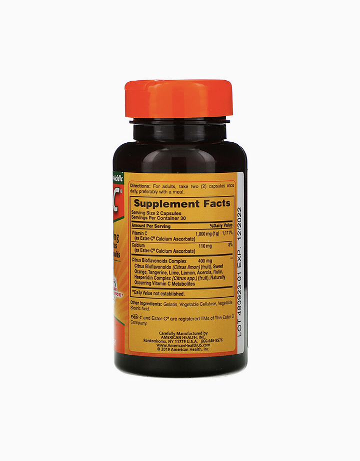 Ester-C (500 mg, 60 Capsules) by American Health