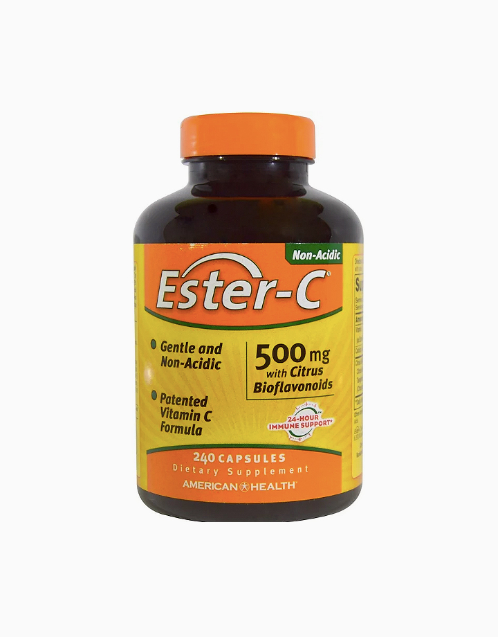 Ester-C with Citrus Bioflavonoids (500mg, 240 Capsules) by American Health