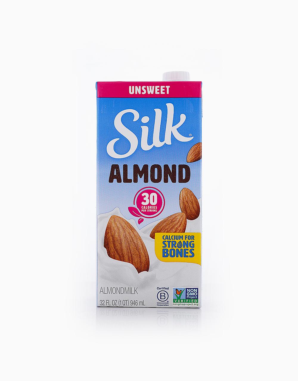 Silk Almond Milk Original Unsweetened (946ml) by Silk